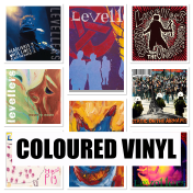 More coloured Vinyl albums.