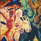 Four Horsemen (Canvas)