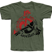 TS Levellers Against Racism - Military Green - Small Only