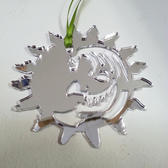Beautiful Days Mirrored Perspex Decoration