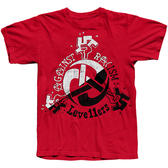 TS Levellers Against Racism - Red