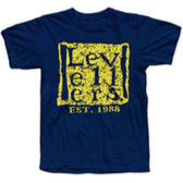 TS - Est.88 with Subvert backprint Navy - Small & XXL Only