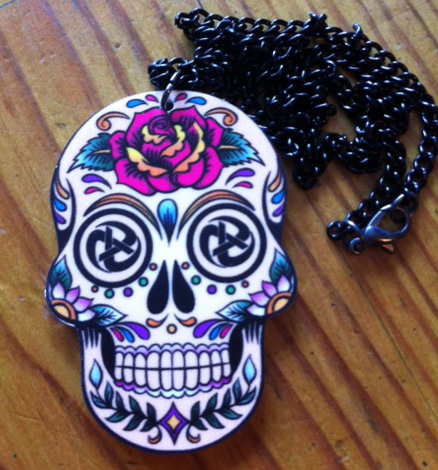 Sugar Skull Necklace The Levellers