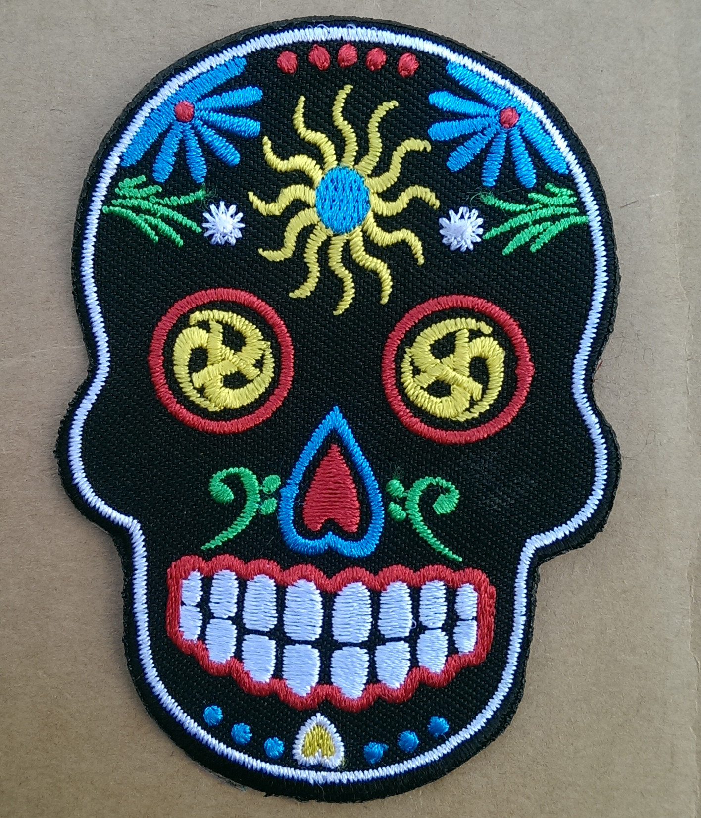 Sugar Skull Patch - The Levellers